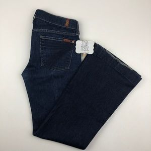 7 for all mankind dojo jeans 29x31